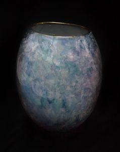 Handmade Pottery Vase (Back)