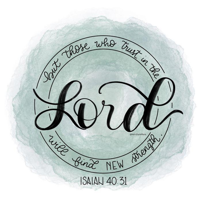 Isaiah 40:31 - Kandra Letters