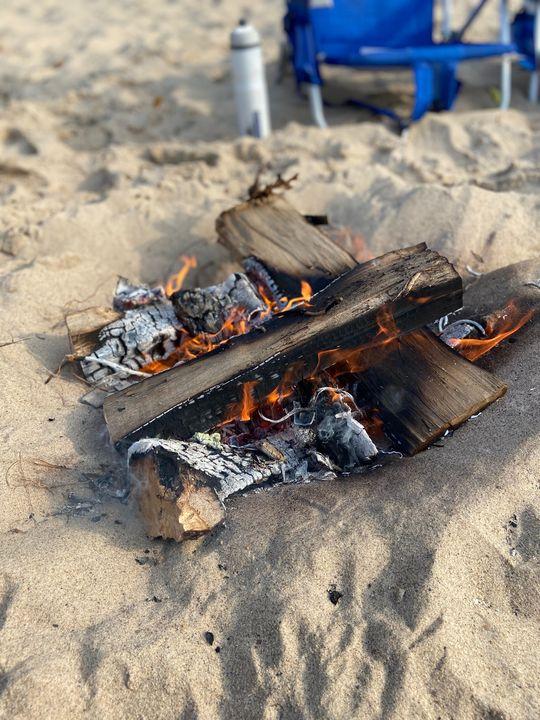 Fire - Cabin 7 Art