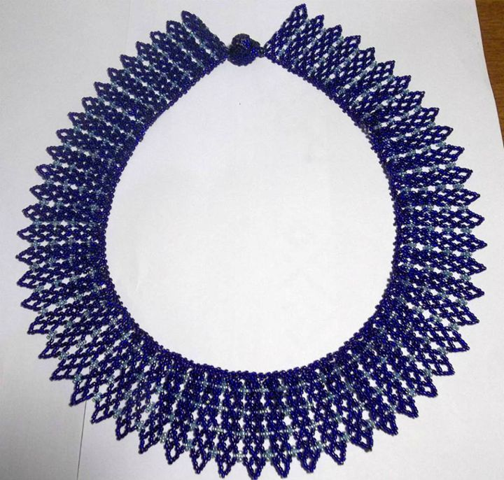 blue necklace - kevana