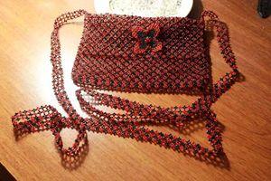 bead handbag