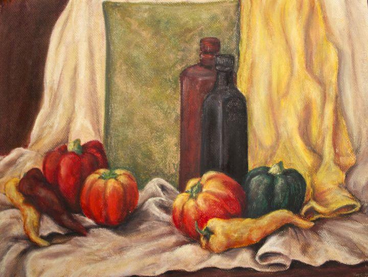 Pastel Still Life - Mary Campbell