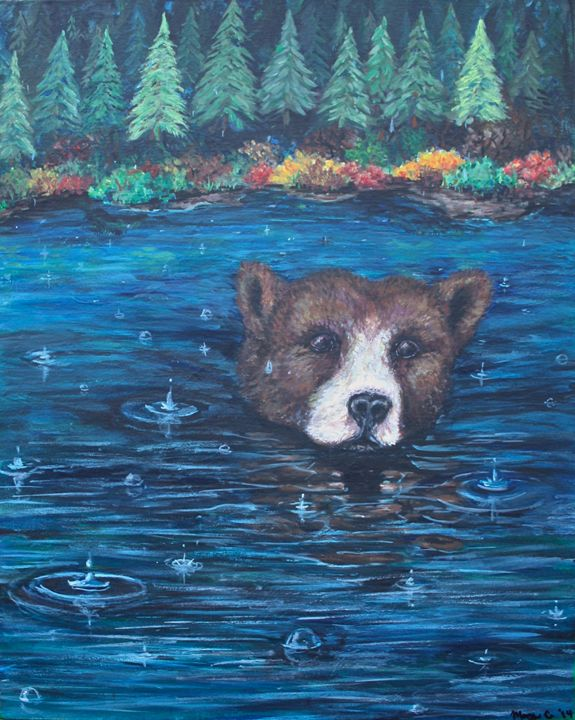 Bearly There - Mary Campbell