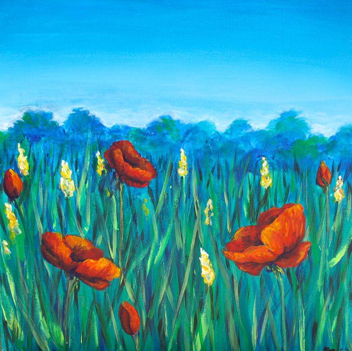 Poppy Field - Mary Campbell