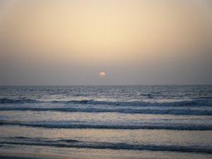 Sunrise in Cocoa Beach, FL