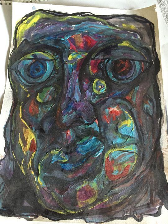 Ugly face - Deansart