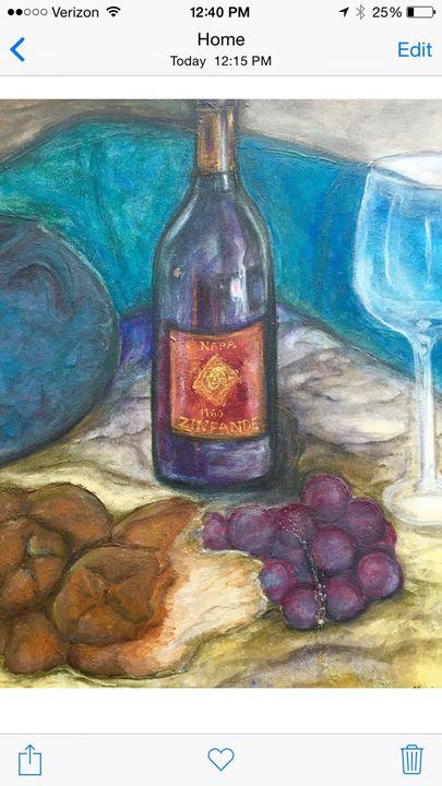 Wine and Halla - Deansart