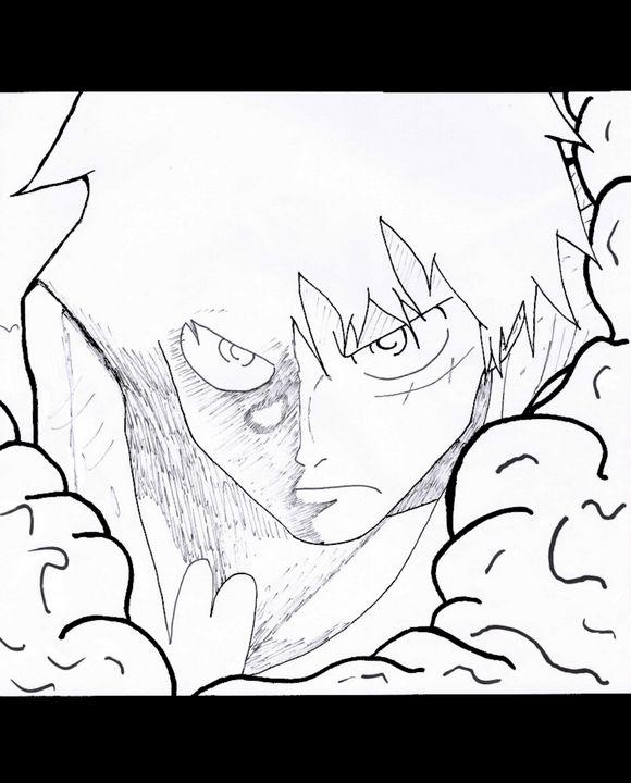 Luffy - Anime Art