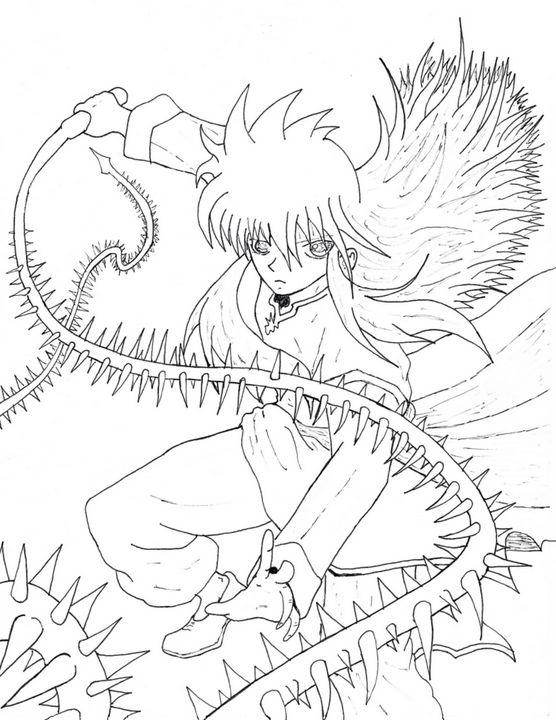 Yu yu hakusho Kurama - Anime Art