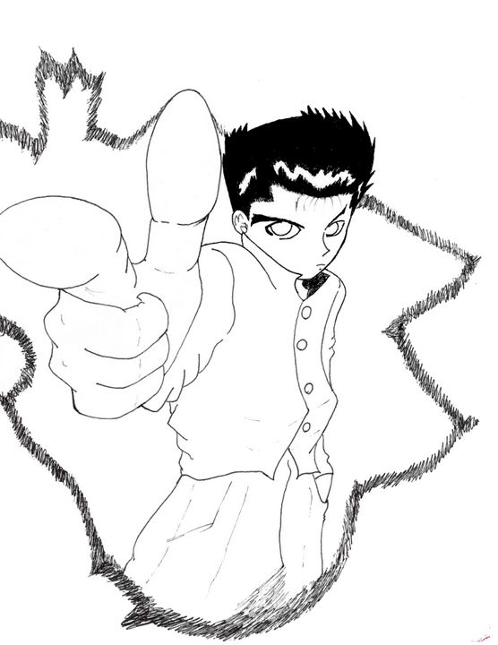 Yu yu hakusho - Anime Art
