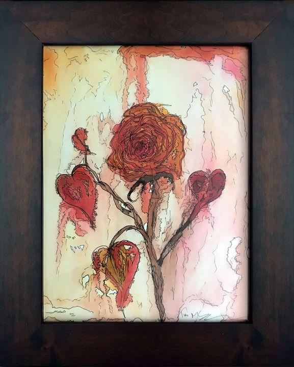 Rose Lovely - Paintings by Teri Moyer