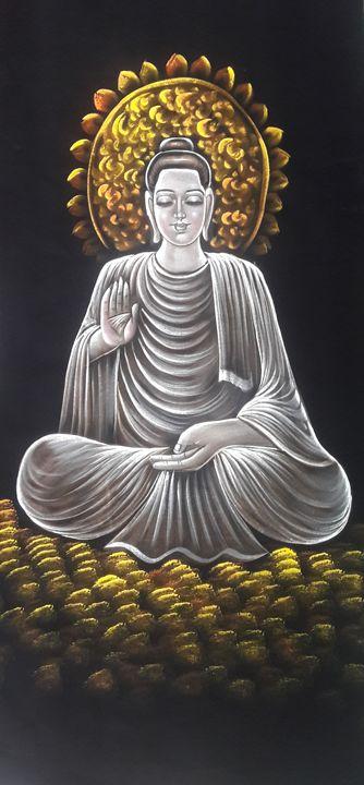 Spirituality  budha - MuchiHandPainting