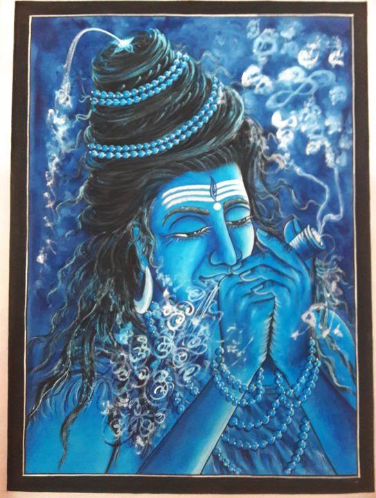 Lord shiva - MuchiHandPainting
