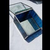 4x4x2 stained glass jewelry box