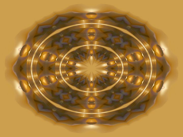 Blessed in circles love - Harold' s Digital Art Anthem