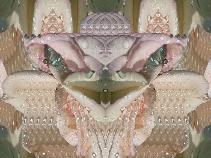 She is Godly love - Harold' s Digital Art Anthem