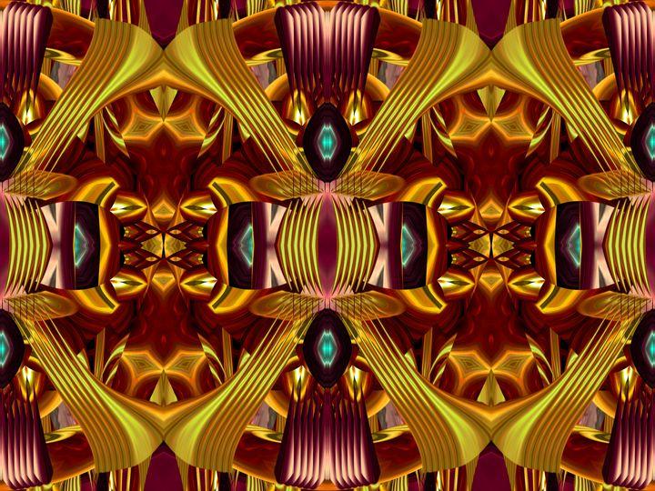 Stripes into healing love - Harold' s Digital Art Anthem