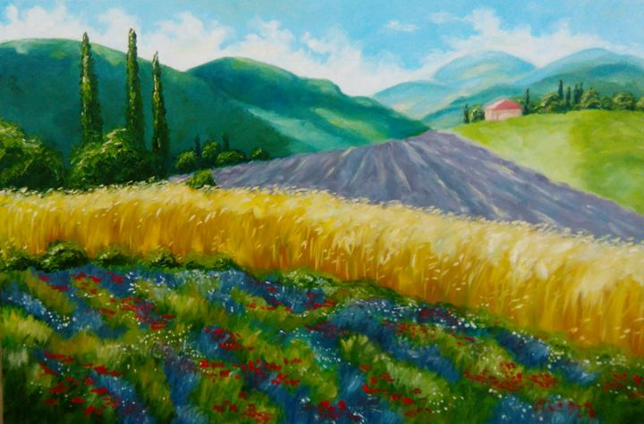 Provence Nature - KVitka Studio