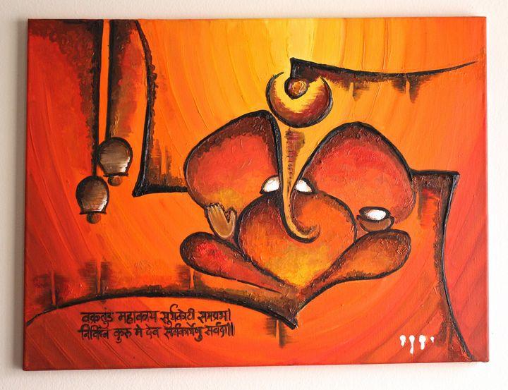Ganesha - Nikita's Art