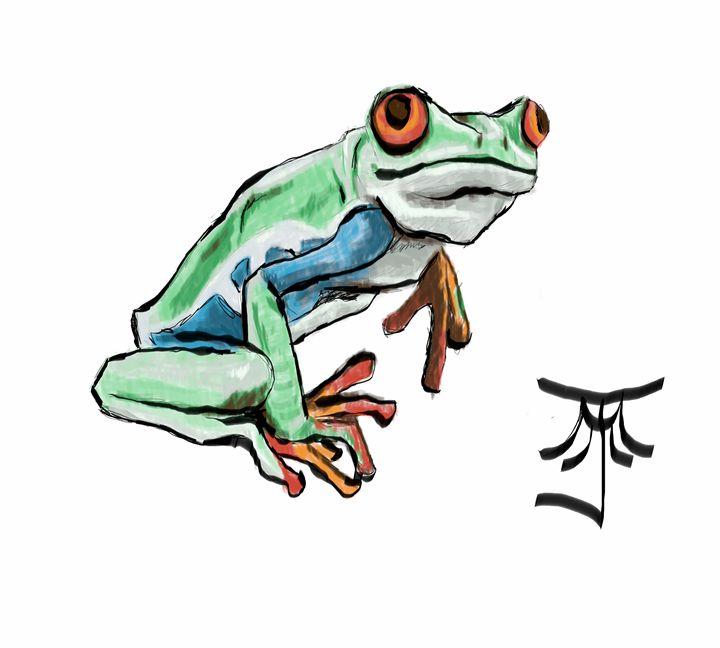 Red Eyed Green Tree Frog - Michael John Mason