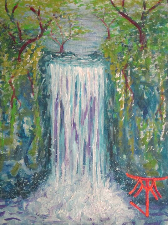 Waterfall - Michael John Mason