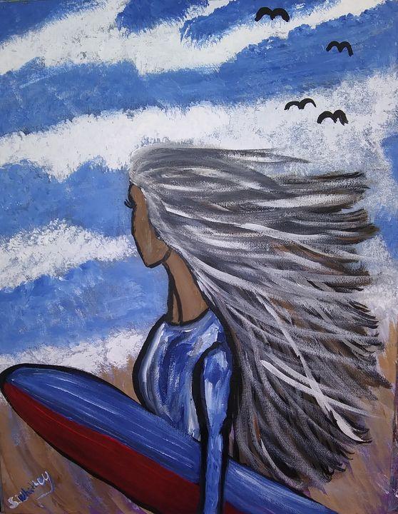 Catching Some Waves - Samantha's Art