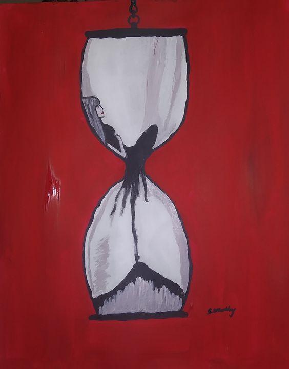 Slipping through time - Samantha's Art