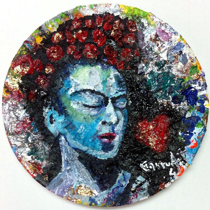 Frida plate - Luis Mesquita ¨Charruart¨