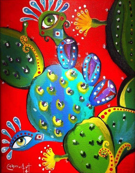 Cactus grandfather - Luis Mesquita ¨Charruart¨