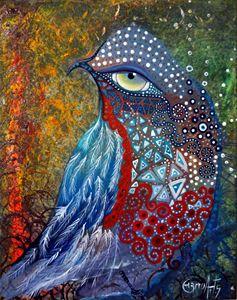 chuchubi bird - Luis Mesquita ¨Charruart¨