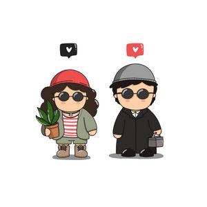 Mathilda and Leon cosplay 🖤