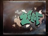 ZREF original Graffiti Canvas