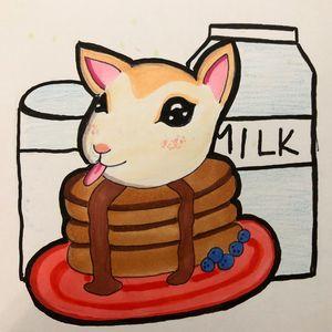 Goat Pancakes