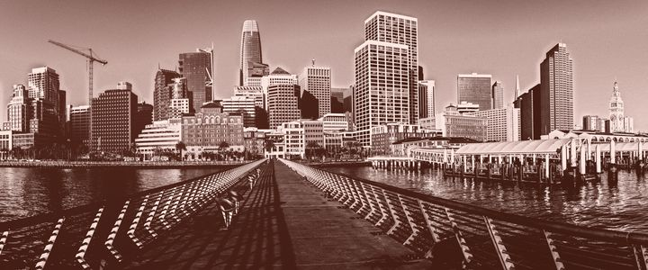 San Francisco downtown pano - Jonathan Nguyen