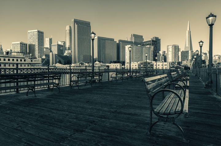 pier 7 (split tones) - Jonathan Nguyen