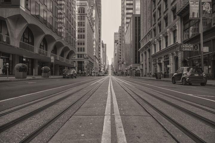 Lockdown San Francisco- sepia 2 - Jonathan Nguyen