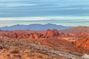 valley of fire evening