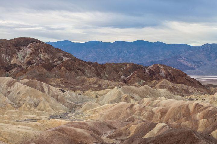 death valley landscape - Jonathan Nguyen