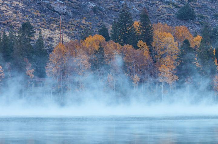 fog over silver lake - Jonathan Nguyen