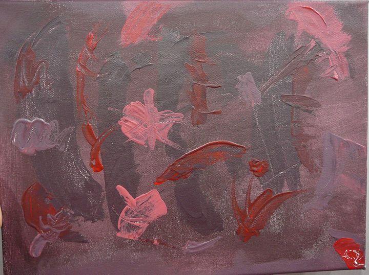 Violet forest - Lukas Sebek paintings