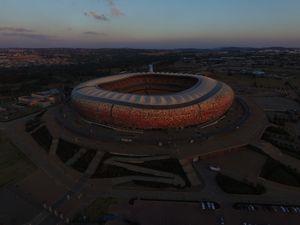 Aerial photo of FNB stadium