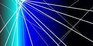 Modern blue artwork 300DPI