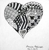 3x3 Crazy Heart Original