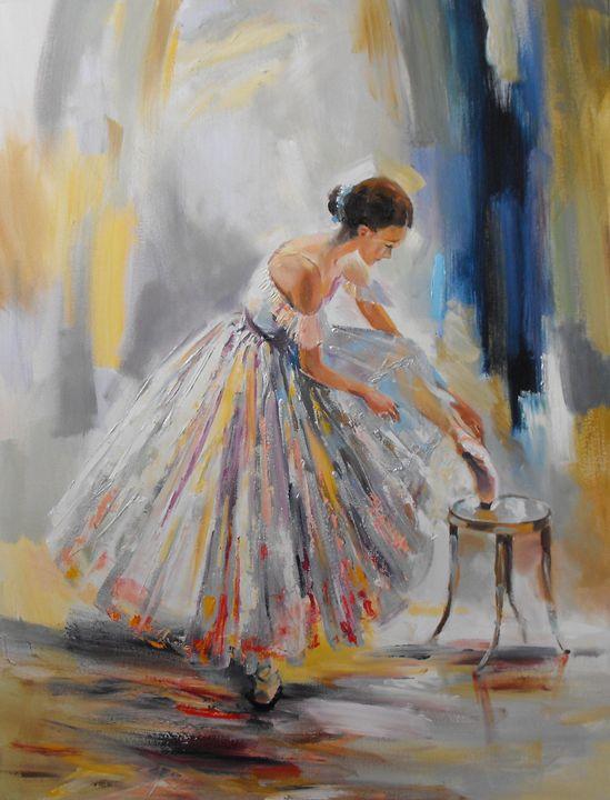 The dancer - Natalia Browarnik. EFN  Modern Art Gallery