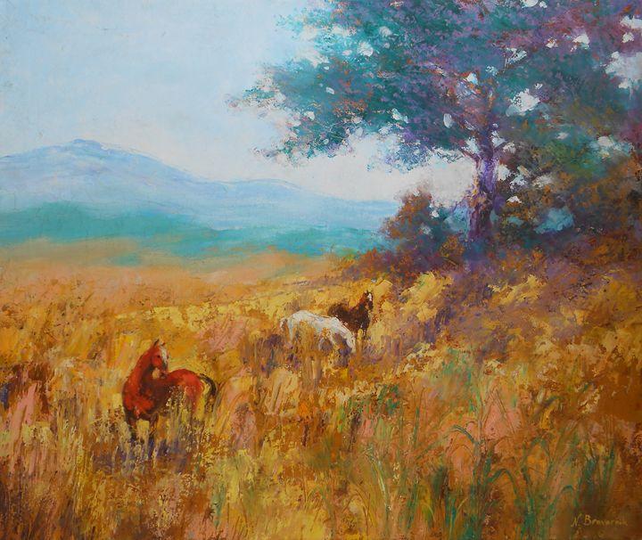 The Jordan Valley - Natalia Browarnik. EFN  Modern Art Gallery