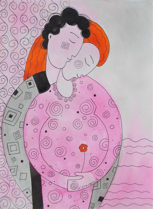 Tenderness - Natalia Browarnik. EFN  Modern Art Gallery