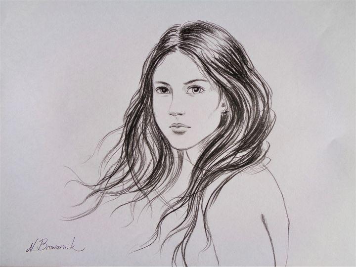 Moment Of Beauty - Natalia Browarnik. EFN  Modern Art Gallery