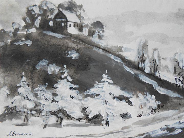 Breath Of Winter - Natalia Browarnik. EFN  Modern Art Gallery