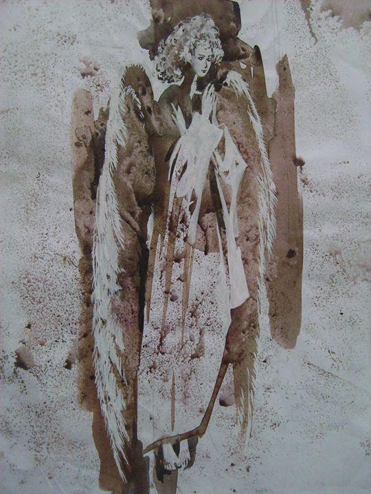 Angel. New. Modern art. - Natalia Browarnik. EFN  Modern Art Gallery