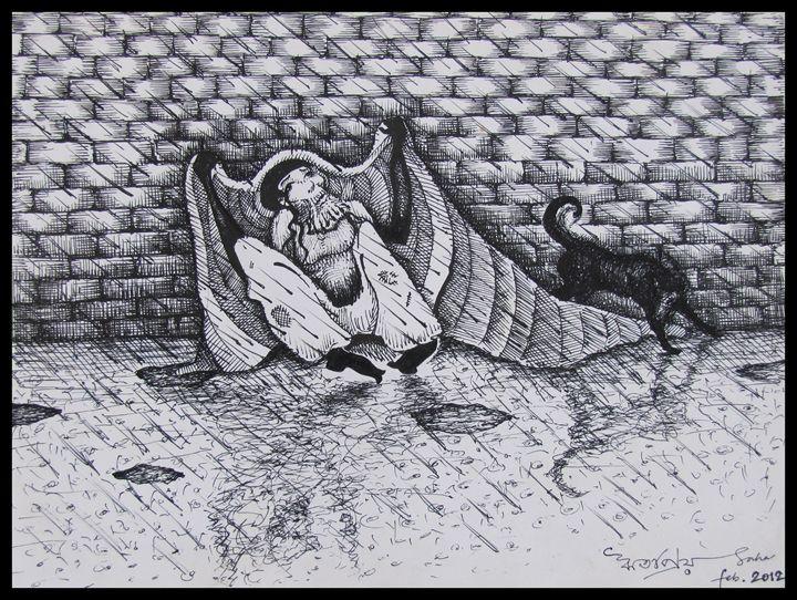 Torn relief - Ritopriyo Saha